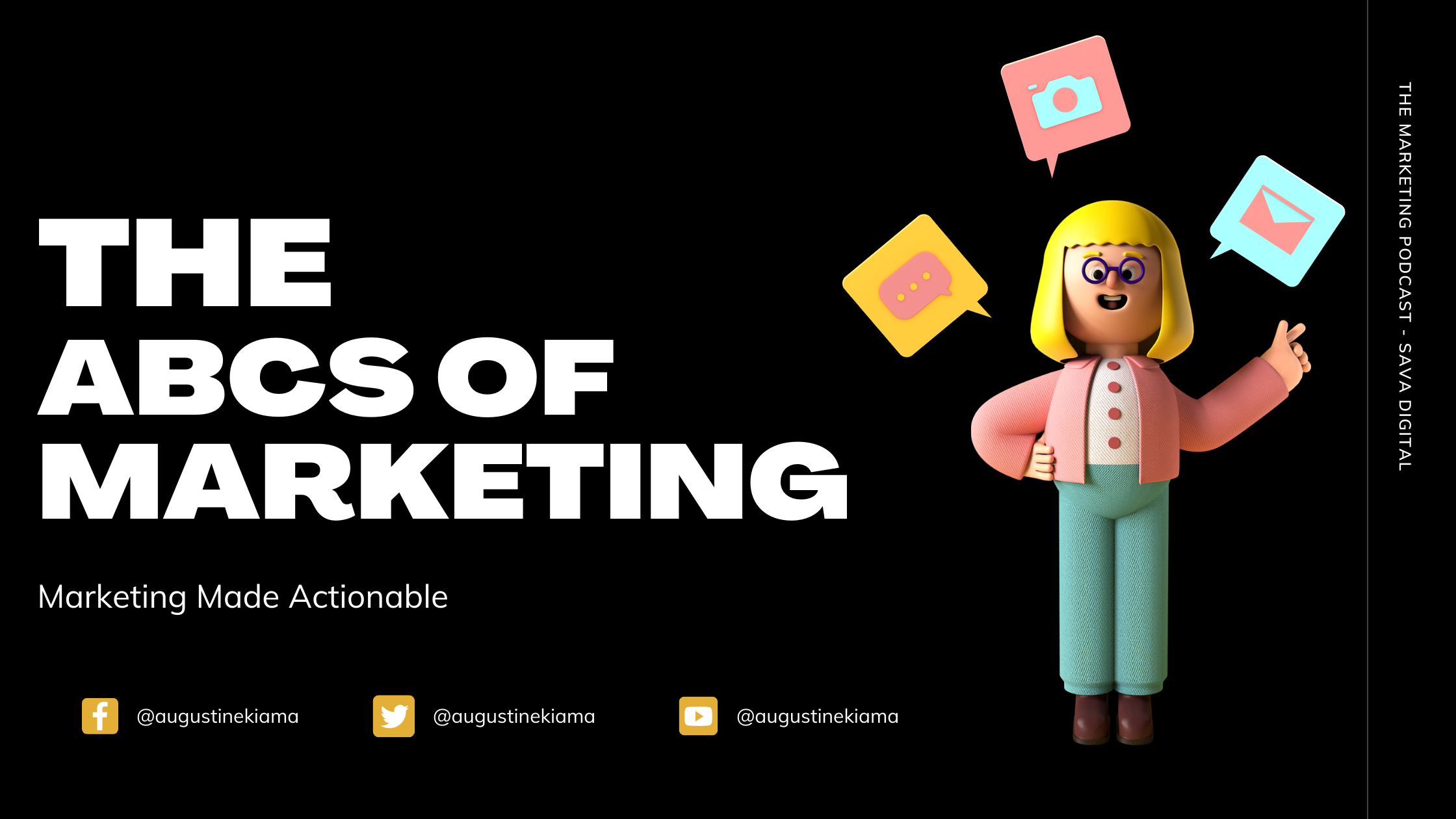 The Marketing Podcast - Digital Marketing tips and insights Newsletter Signup