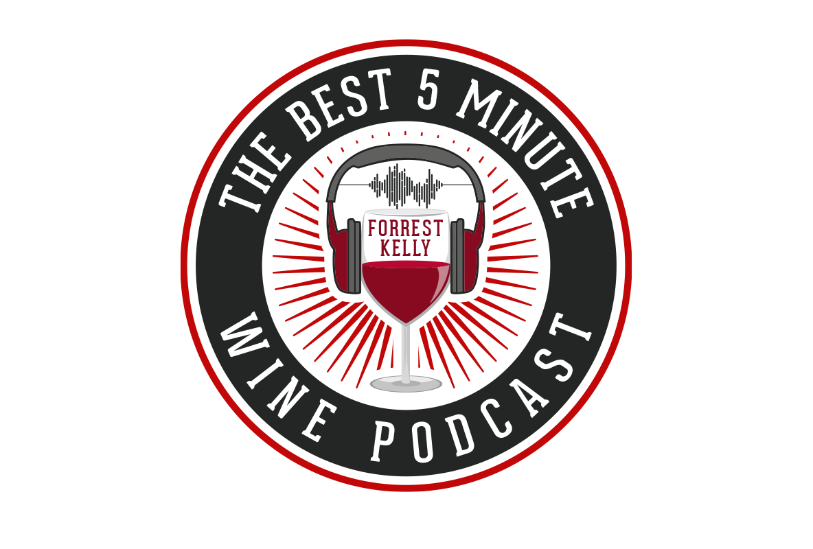 The Best 5 Minute Wine Podcast Logo