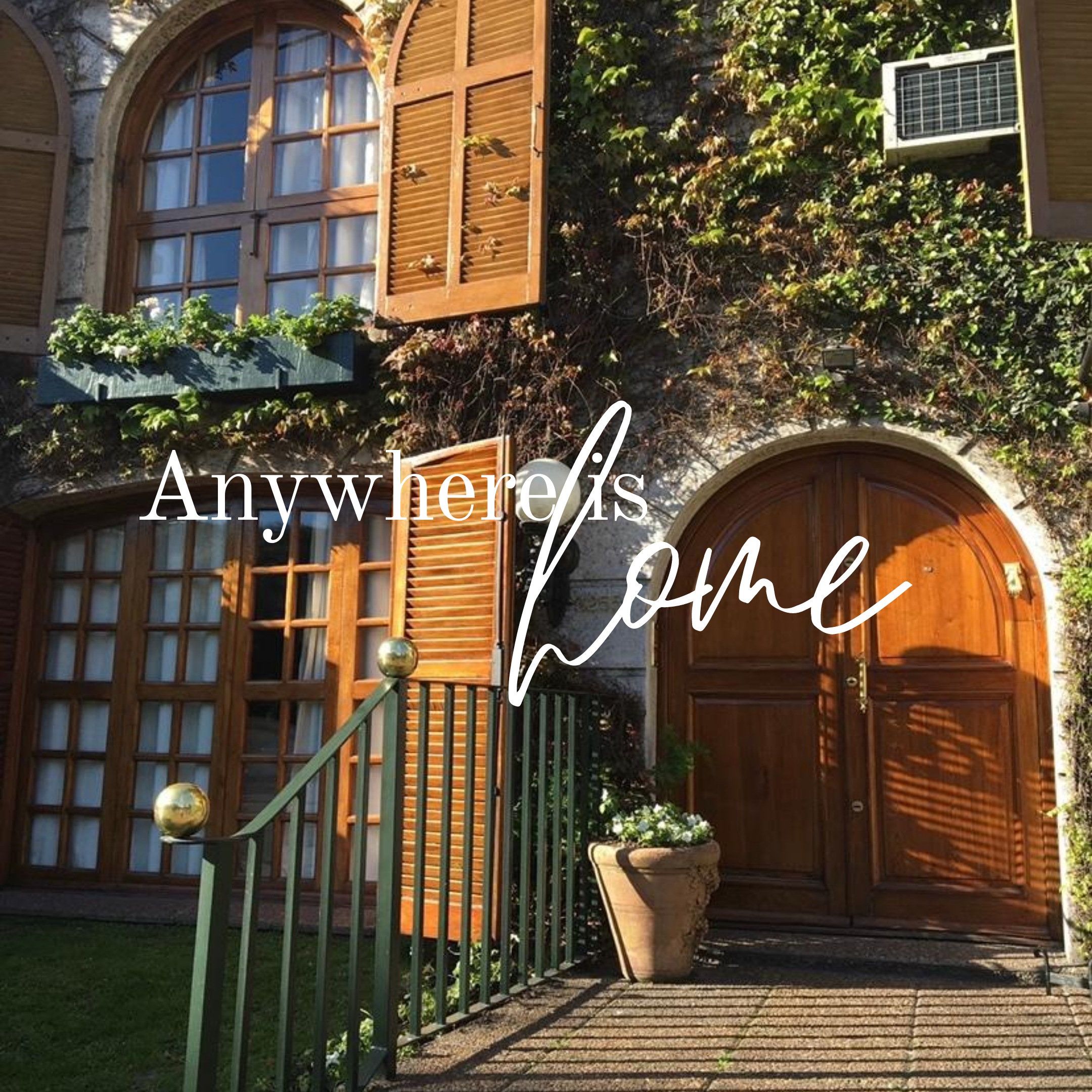 Anywhere Is Home Newsletter Signup