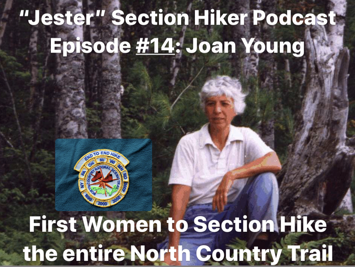 Episode #14 - Joan Young: North Country Trail
