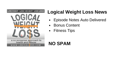 Logical Weight Loss Podcast Newsletter Signup