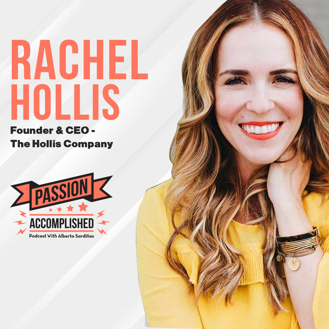 Stop apologizing for chasing your dreams with Rachel Hollis