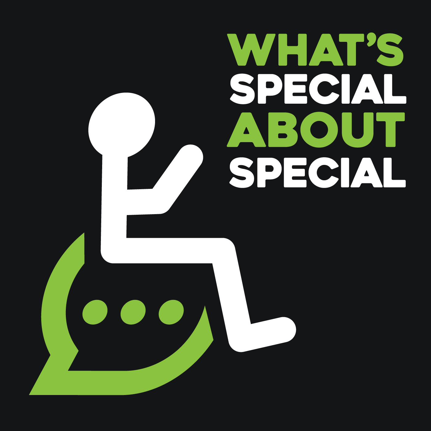 What's Special About Special Podcast Logo