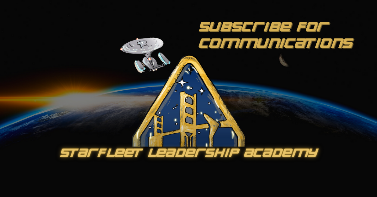 Starfleet Leadership Academy Newsletter Signup