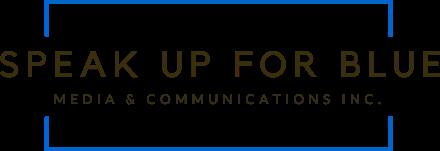 Speak Up for Blue Podcast Network Logo