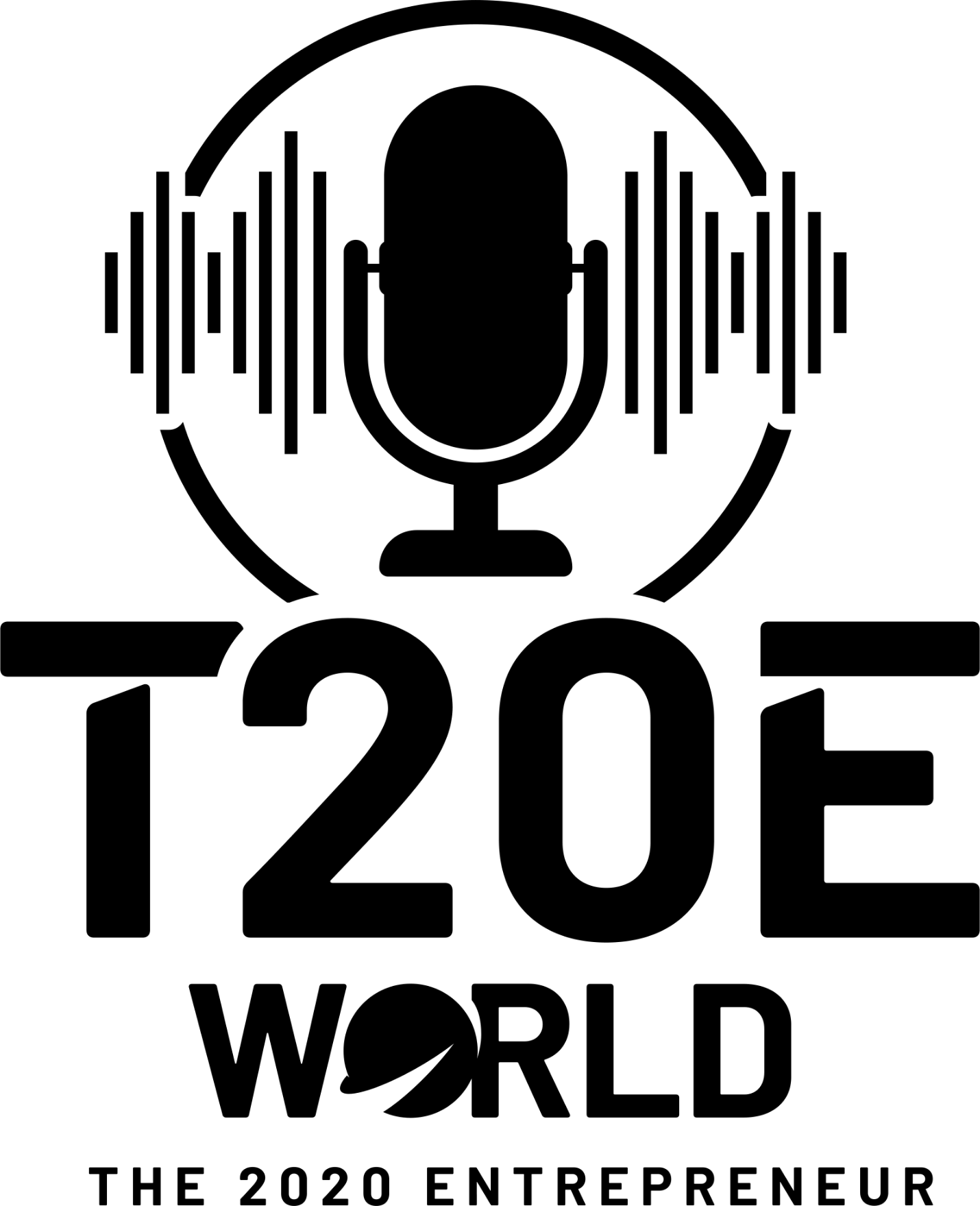 T20E World - The 2020 Entrepreneur World Podcast Logo