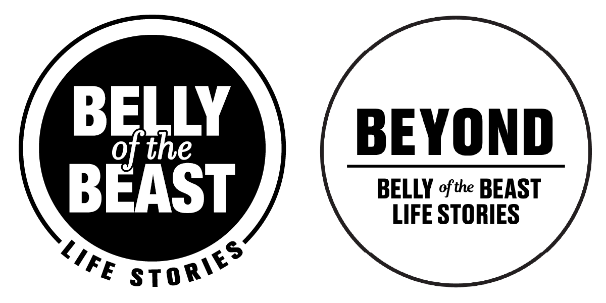 Belly of the Beast Life Stories & Beyond with David All Logo