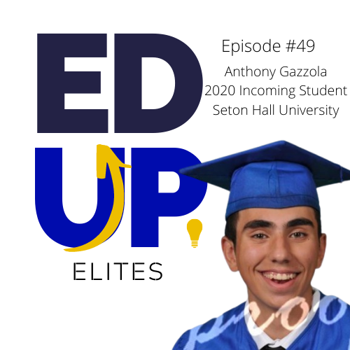 49: Anthony Gazzola, 2020 Incoming Student at Seton Hall University