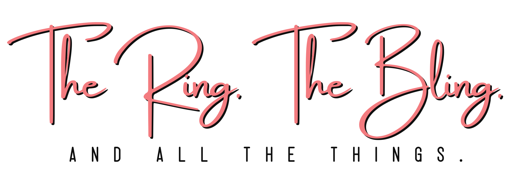 The Ring The Bling and All The Things Logo