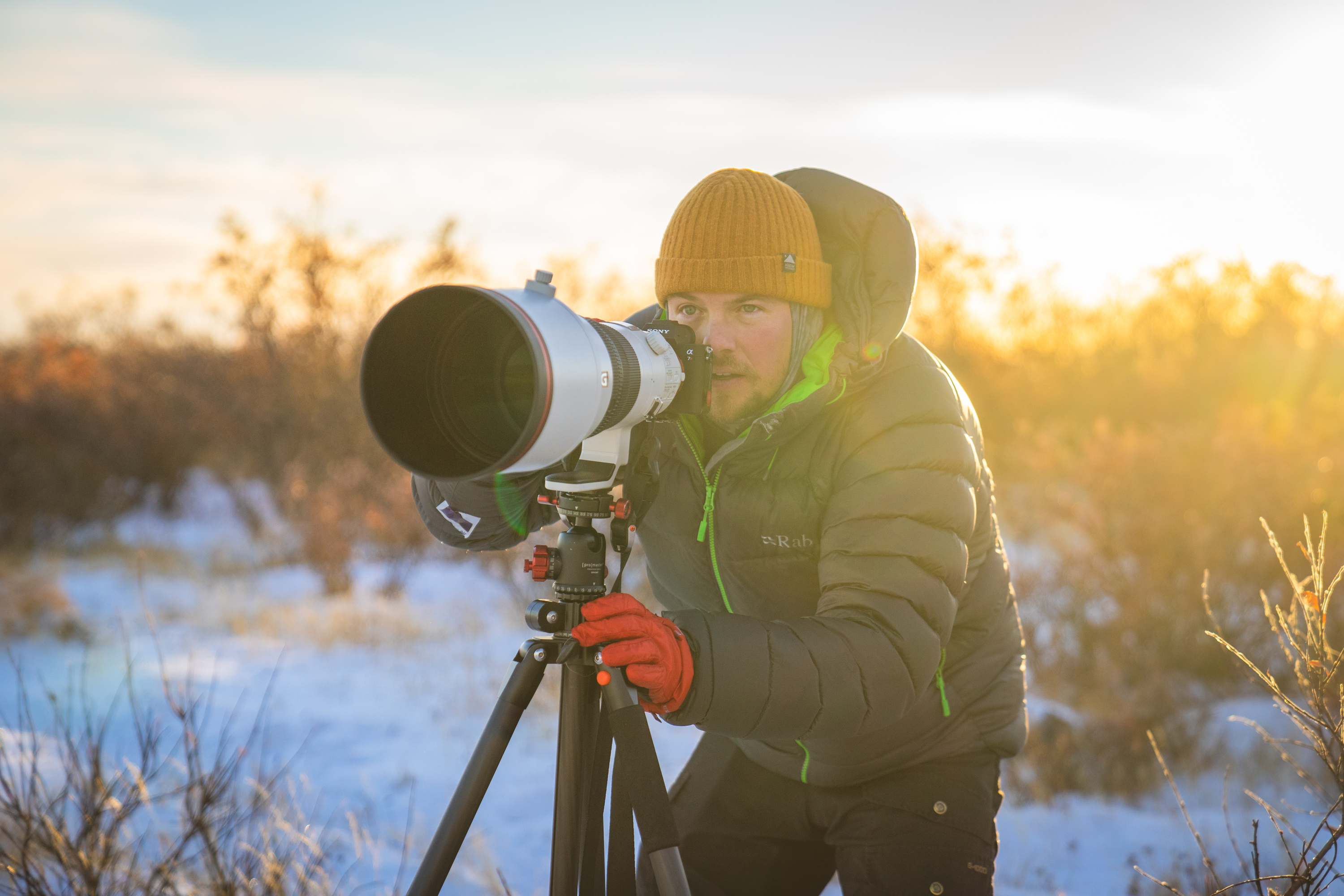 Sony Alpha Collective member and outdoor photographer Nate in the Wild, Nate Luebbe
