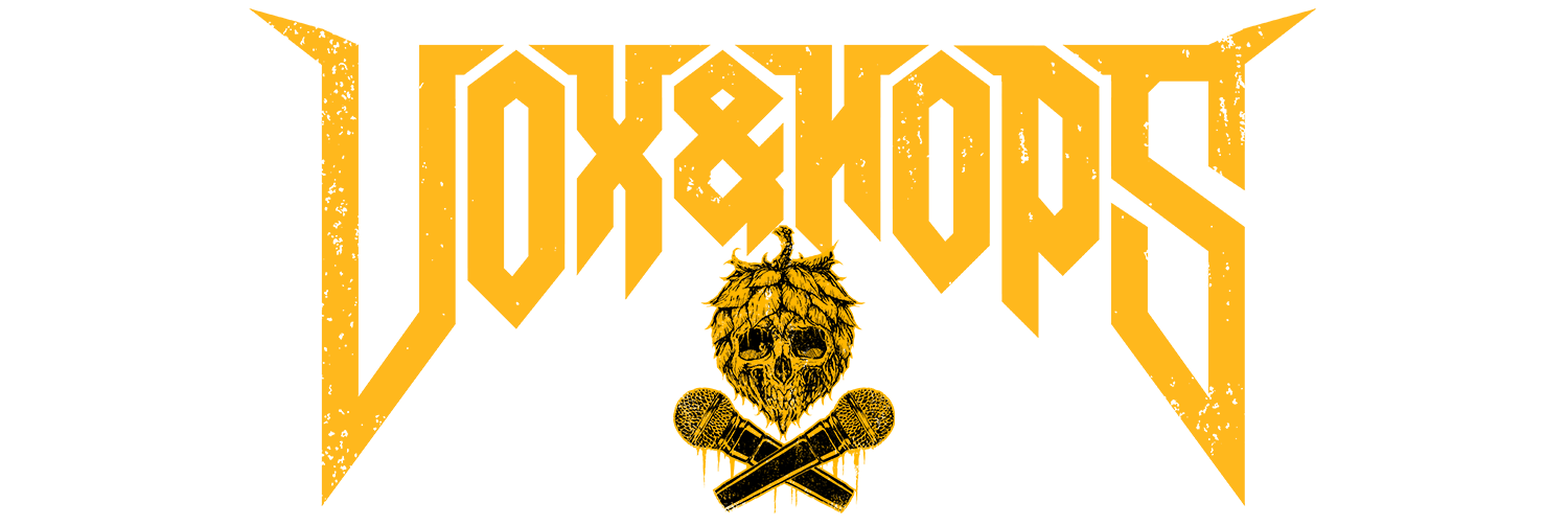 Vox&Hops Metal Podcast Logo