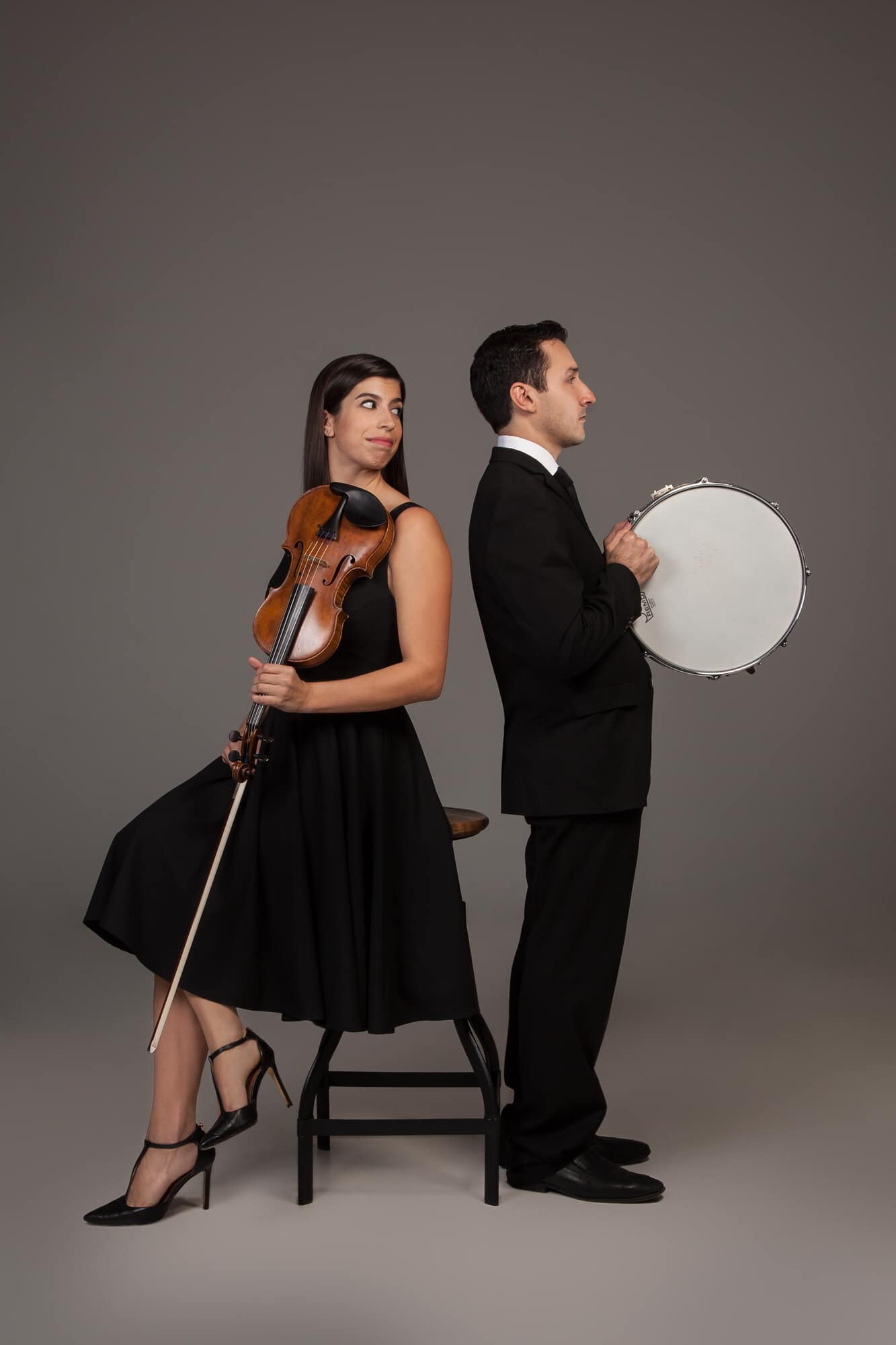 George Nickson and Samantha Bennett, Founders of Ensemble New SRQ, Join the Club