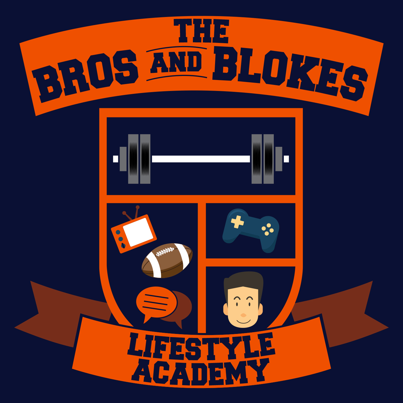 The Bros and Blokes Lifestyle Academy Logo