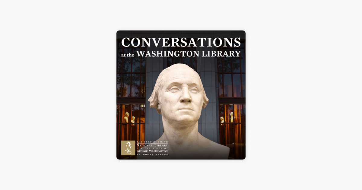 Conversations at the Washington Library Newsletter Signup