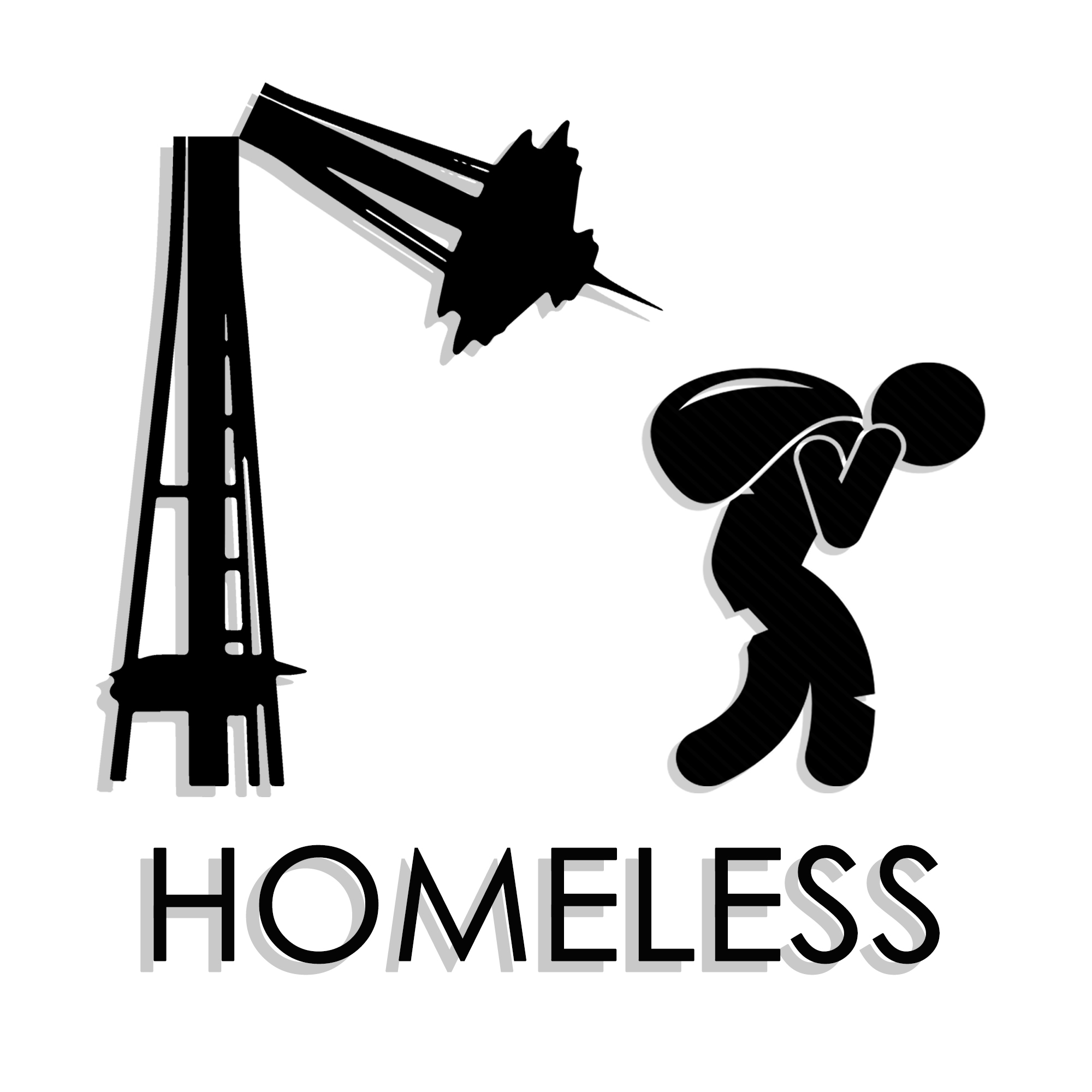 The Homeless Podcast Logo
