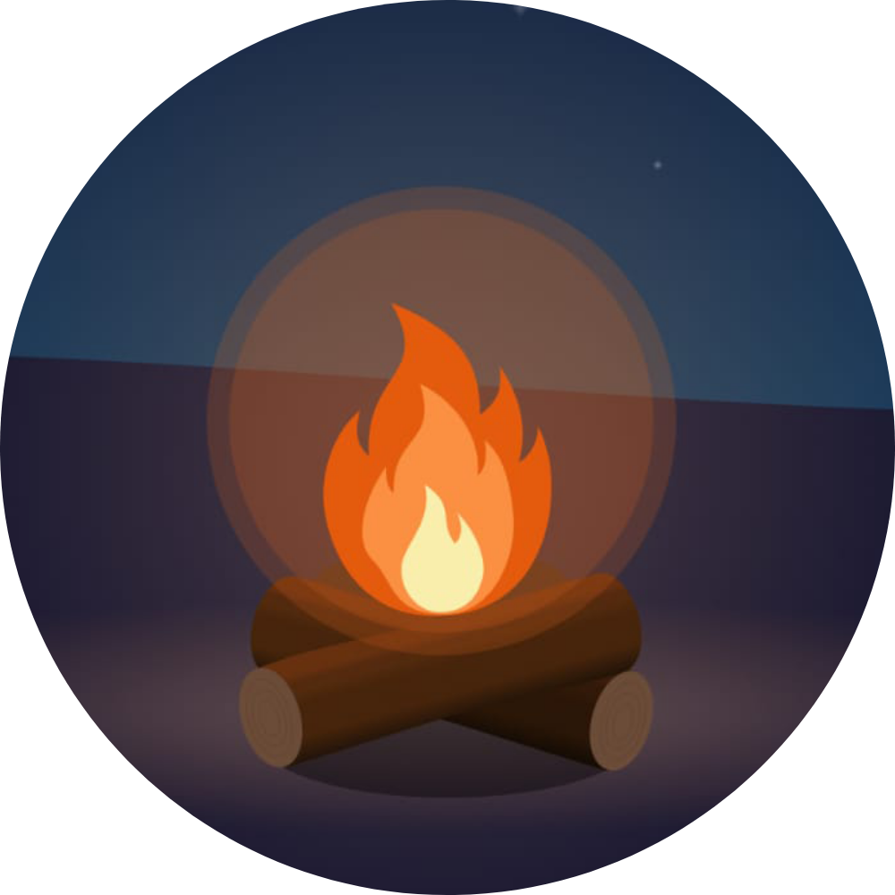 Tales by the Fireside Logo