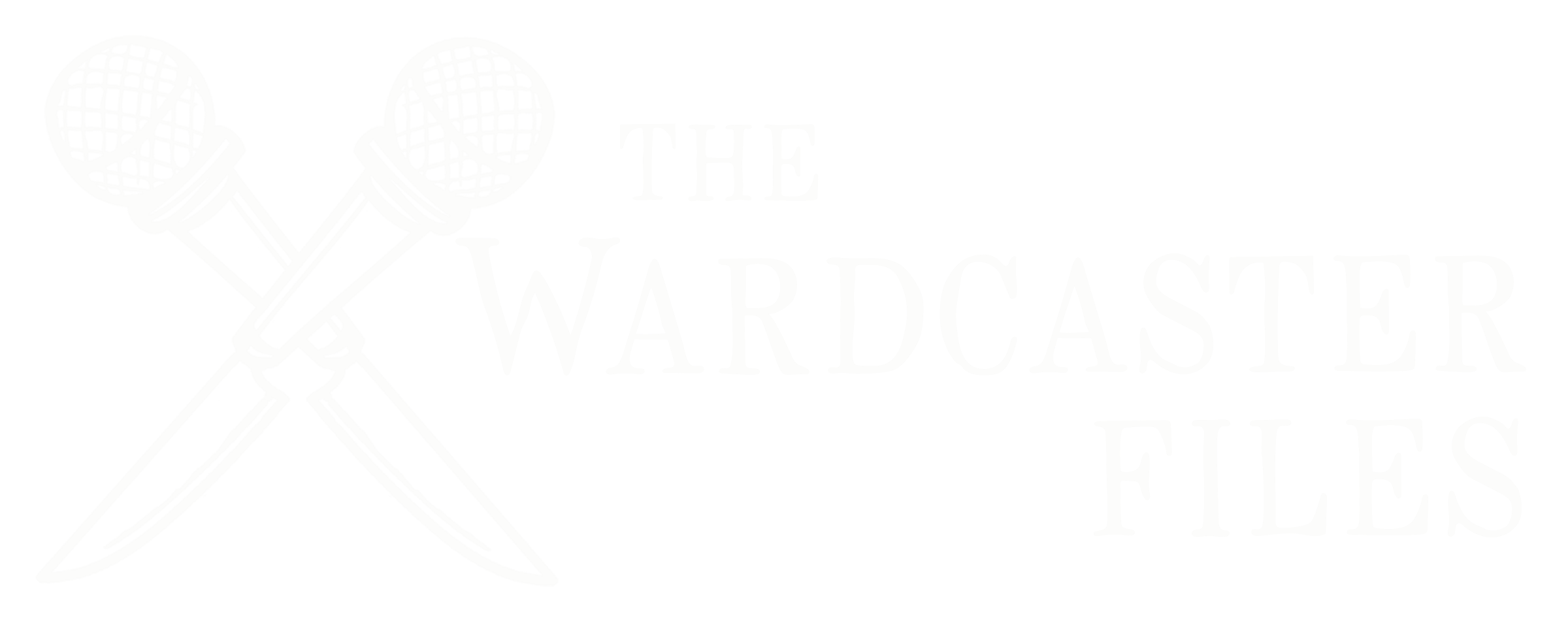 The Wardcaster Files Logo