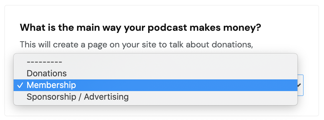 How to monetize your podcast on your podcast website image