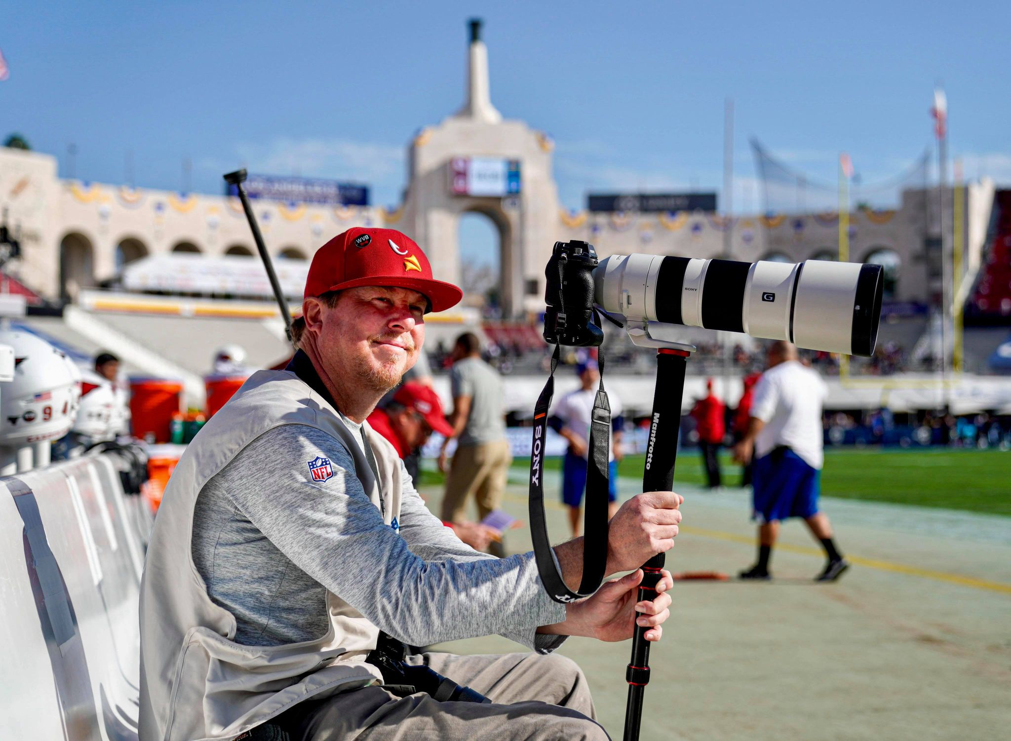 Sony Artisan and Pro Sports Photographer, Gene Lower
