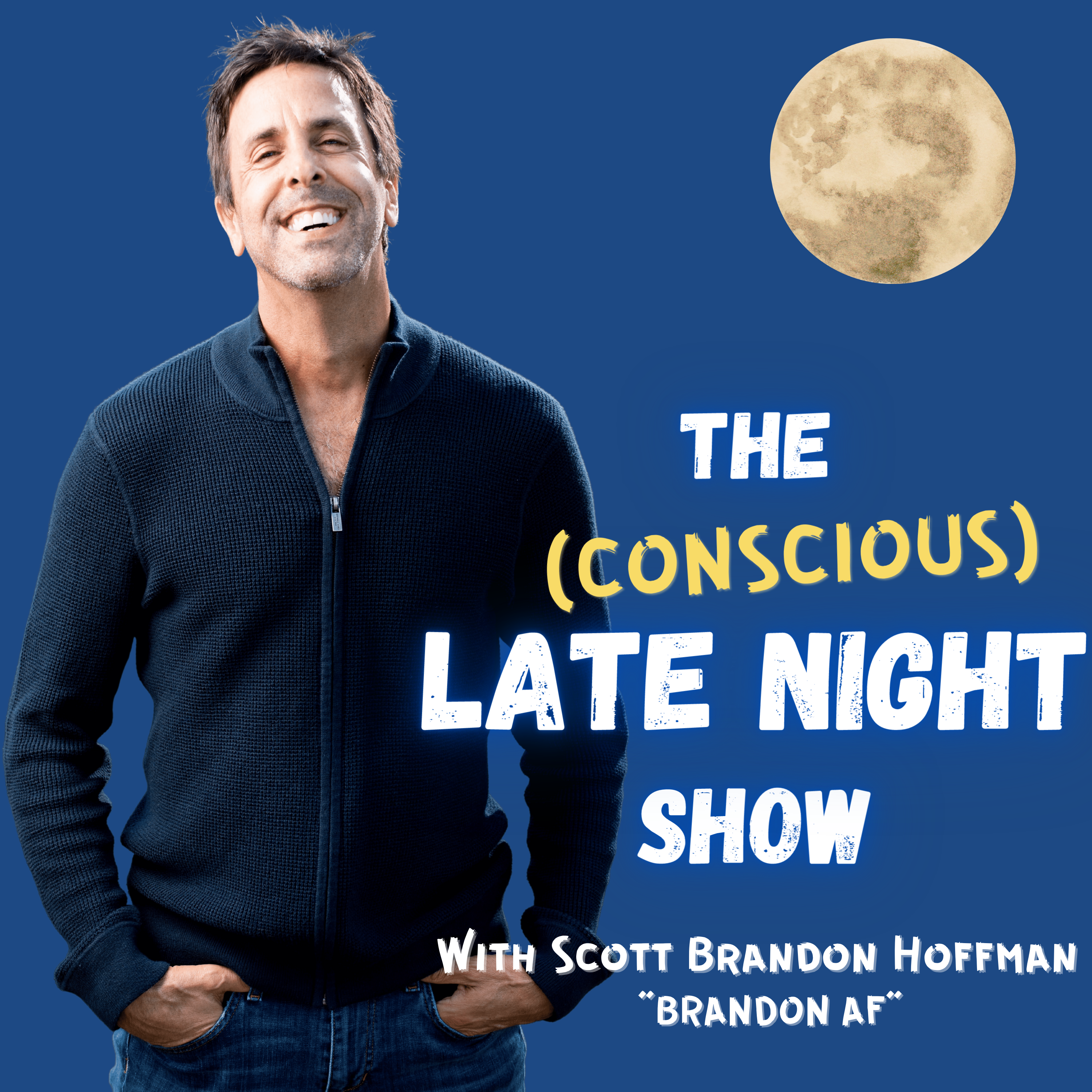 THE CONSCIOUS LATE NIGHT SHOW! Logo