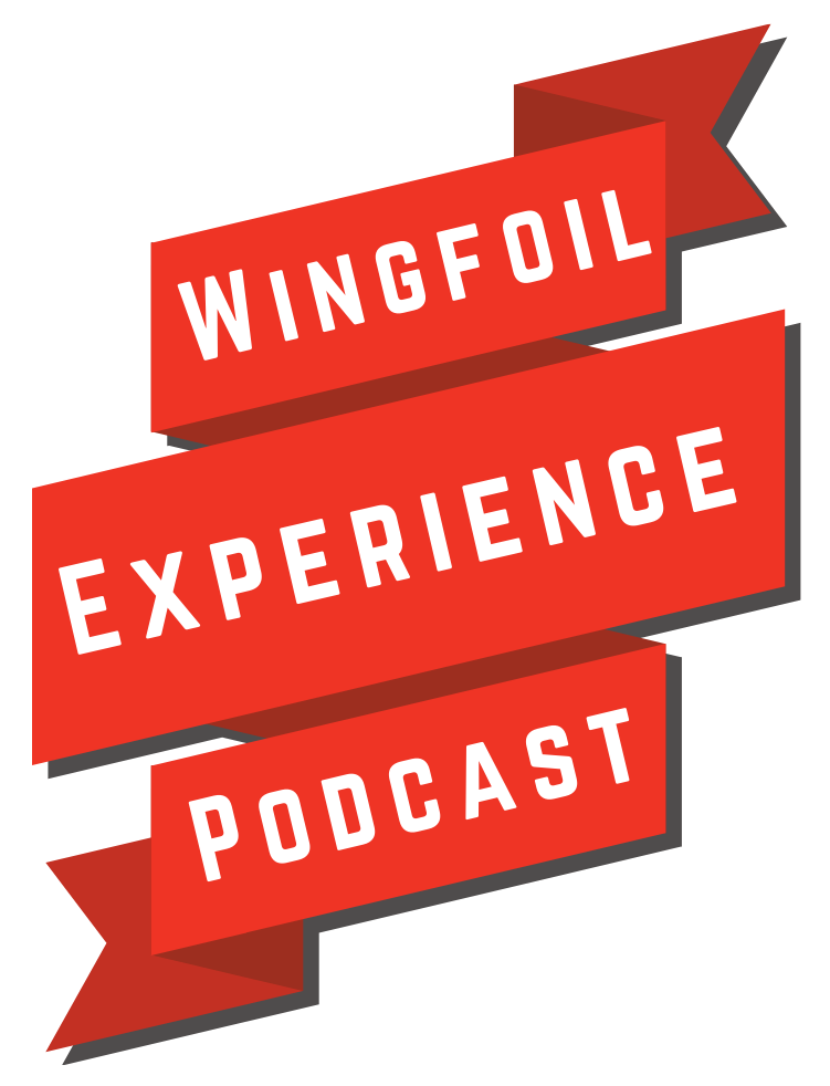 Wingfoil Experience Podcast Logo