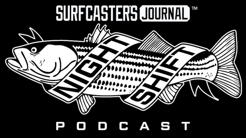 Surfcaster's Journal Night Shift Podcast Newsletter Signup