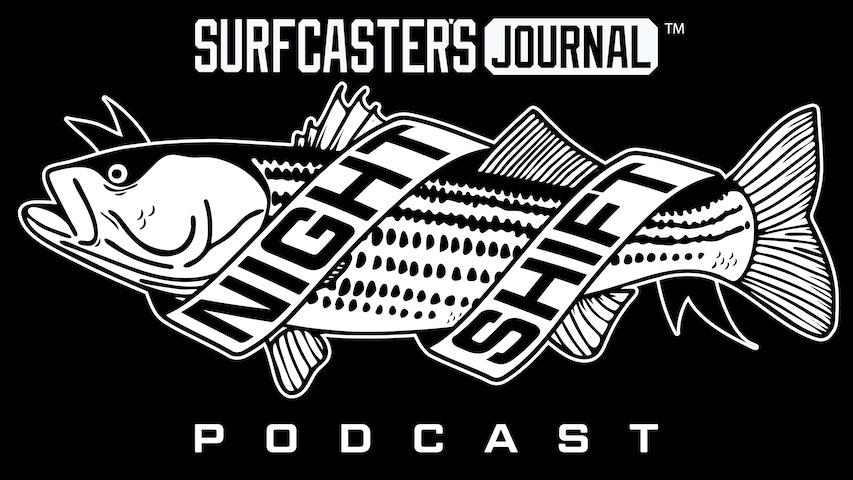 Surfcaster's Journal Night Shift Podcast Newsletter Signup