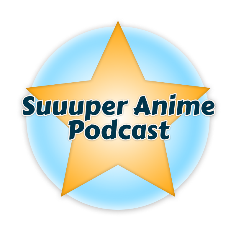 Suuuper Anime Podcast Logo