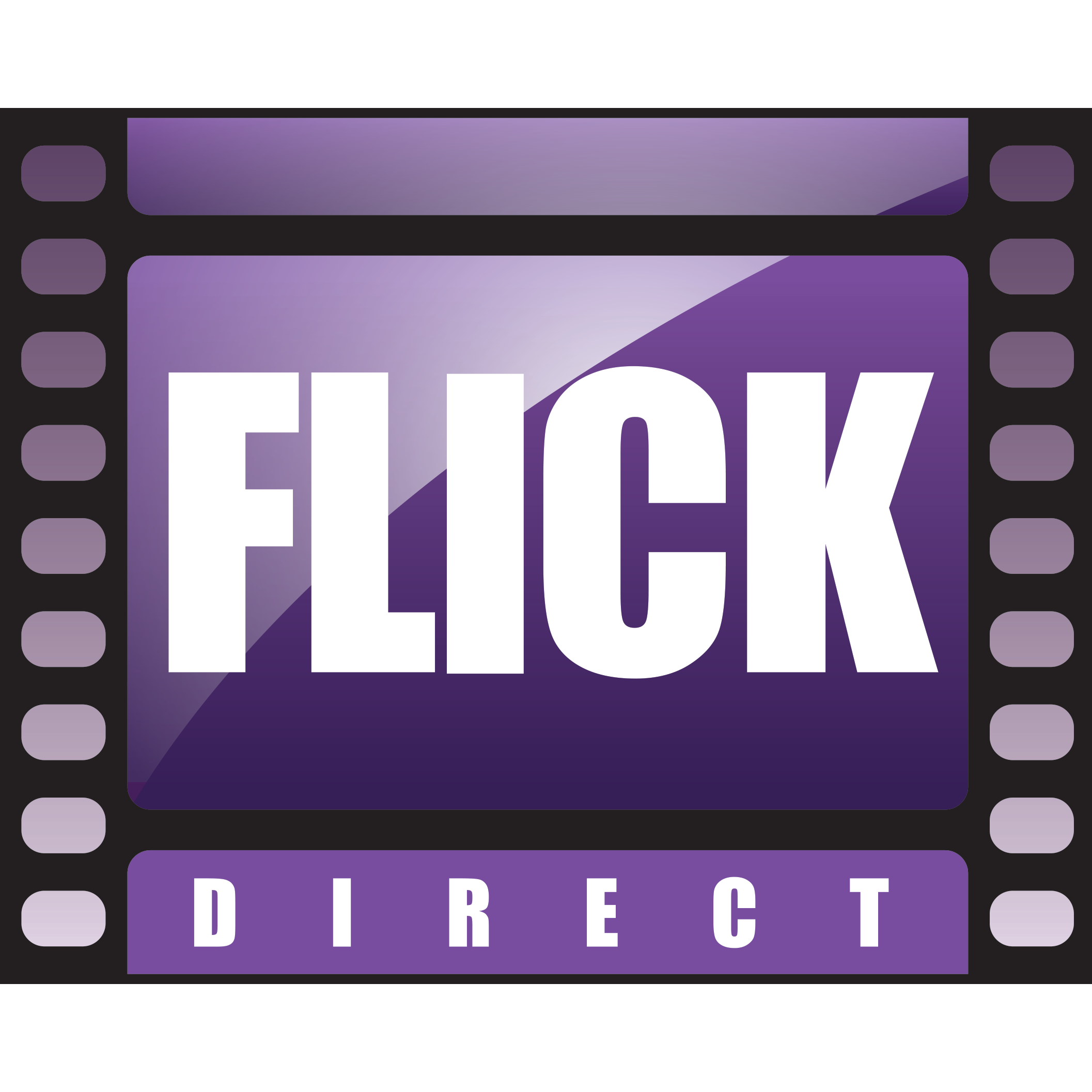 FlickThat Movie Podcast, A Discussion About Movies and TV Logo
