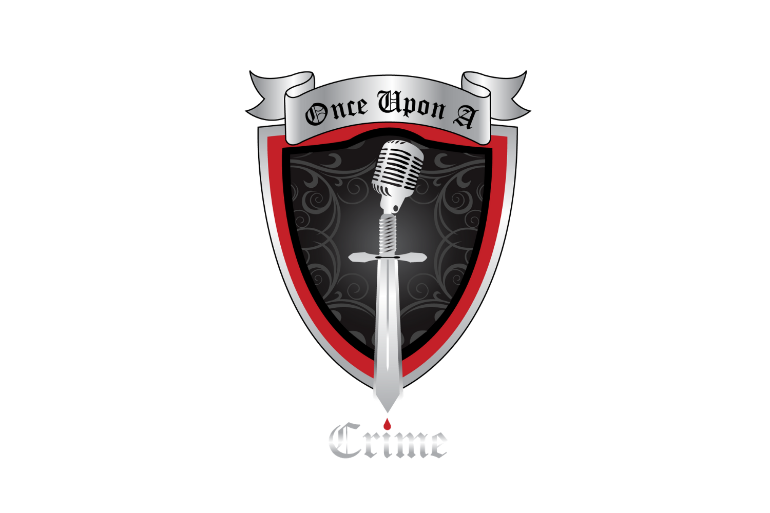 Once Upon A Crime Logo