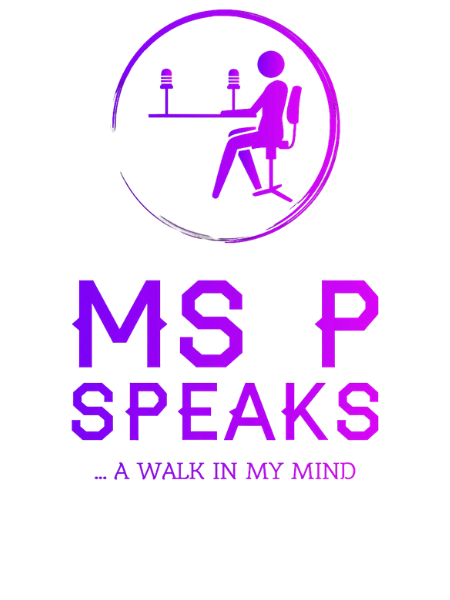 Ms P Speaks Logo
