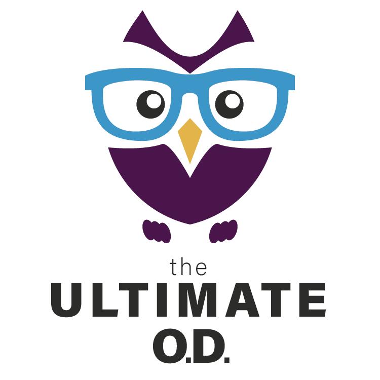 Optometry: The Ultimate O.D. Logo