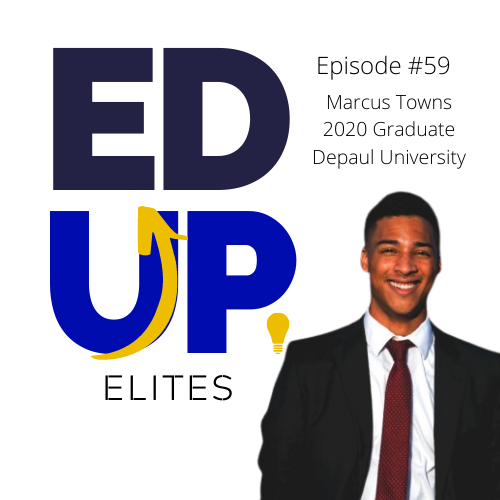 59: Marcus Towns, 2020 Graduate of Depaul University