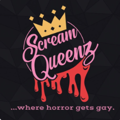 ScreamQueenz: Where Horror Gets GAY! Logo