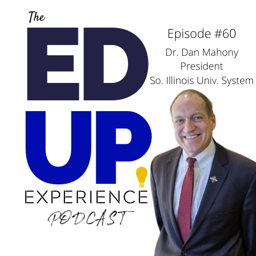 60. Dr. Dan Mahony, President, Southern Illinois University System