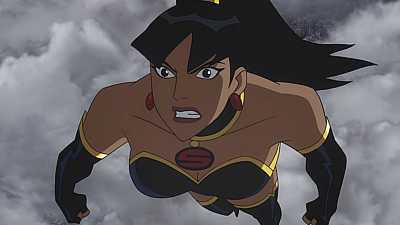Gina Torres On JLA Crisis On Two Earths