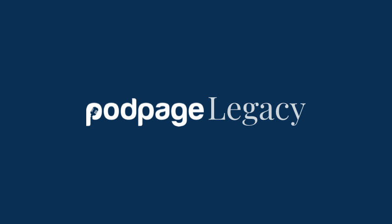 Introducing the Podpage Legacy Plan image