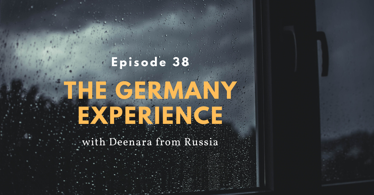 Dealing with depression in Germany (Deenara from Russia)