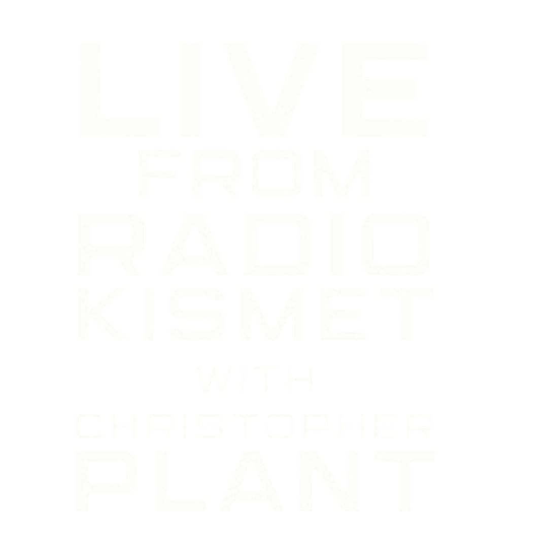 Live from RADIOKISMET with Christopher Plant Logo