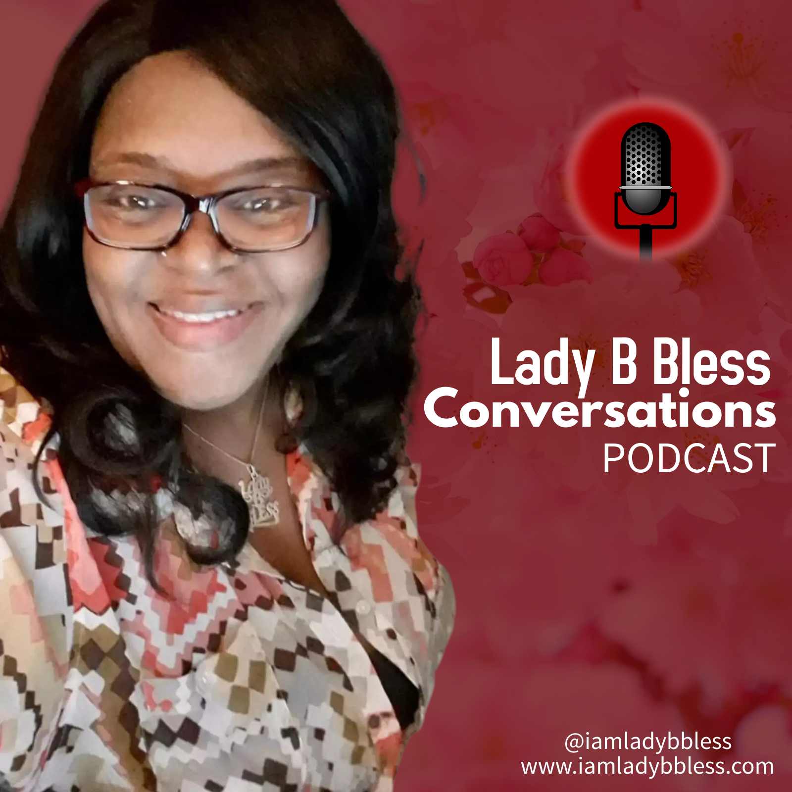 Lady B Bless Conversations Podcast Logo