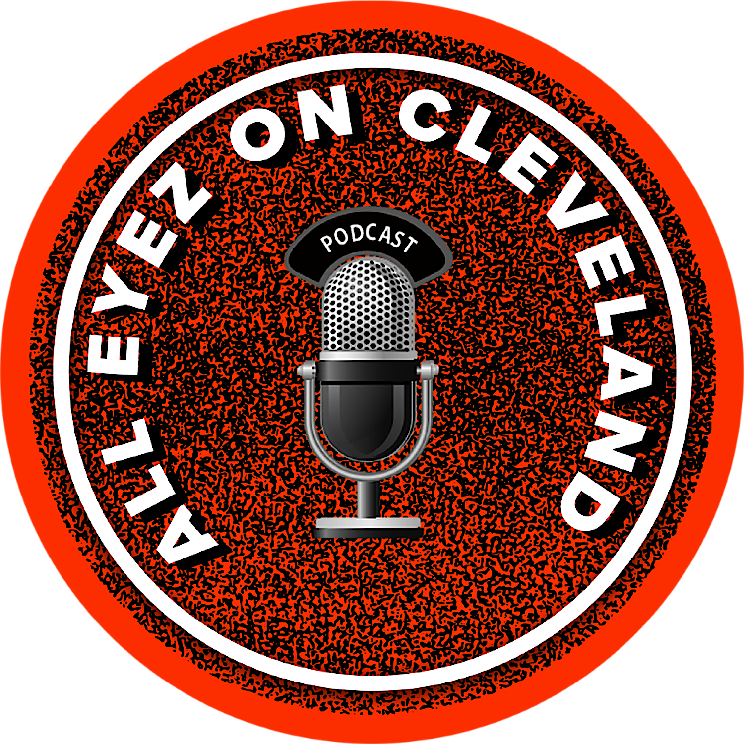 All Eyez on Cleveland podcast Logo