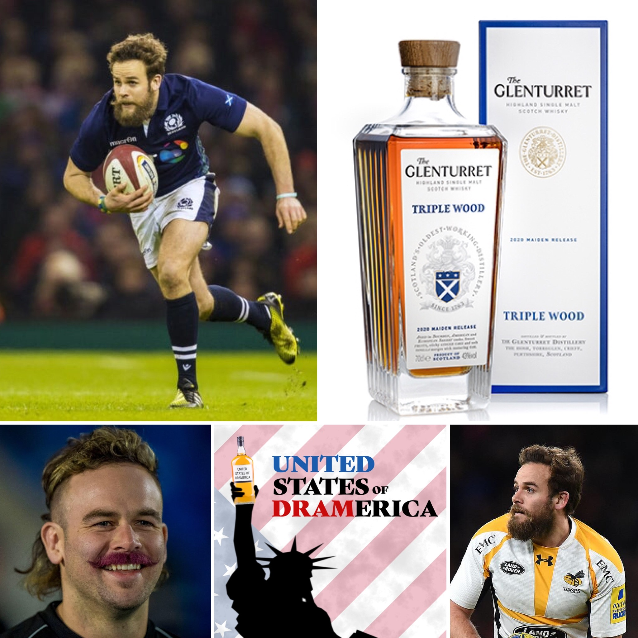 Episode 45 - Ruaridh Jackson, ex-rugby player and Glenturret whisky