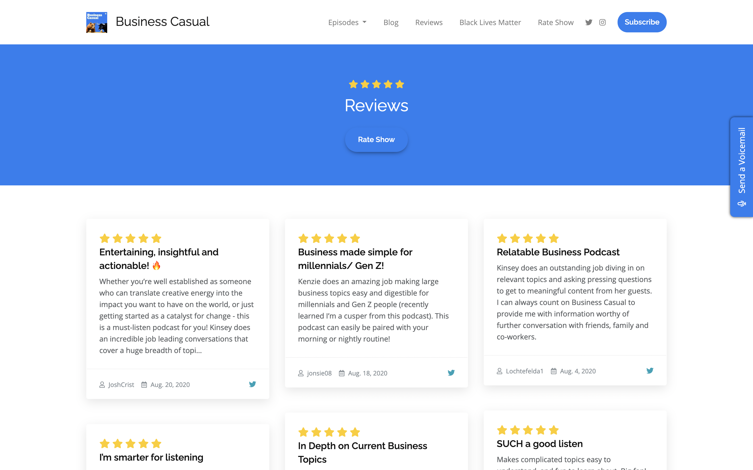 Introducing Site Submitted Reviews image