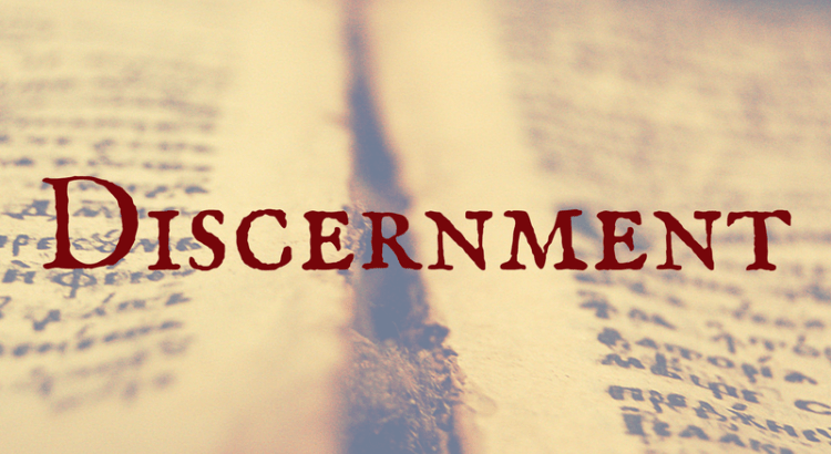 Discernment, Discipline And Discipleship
