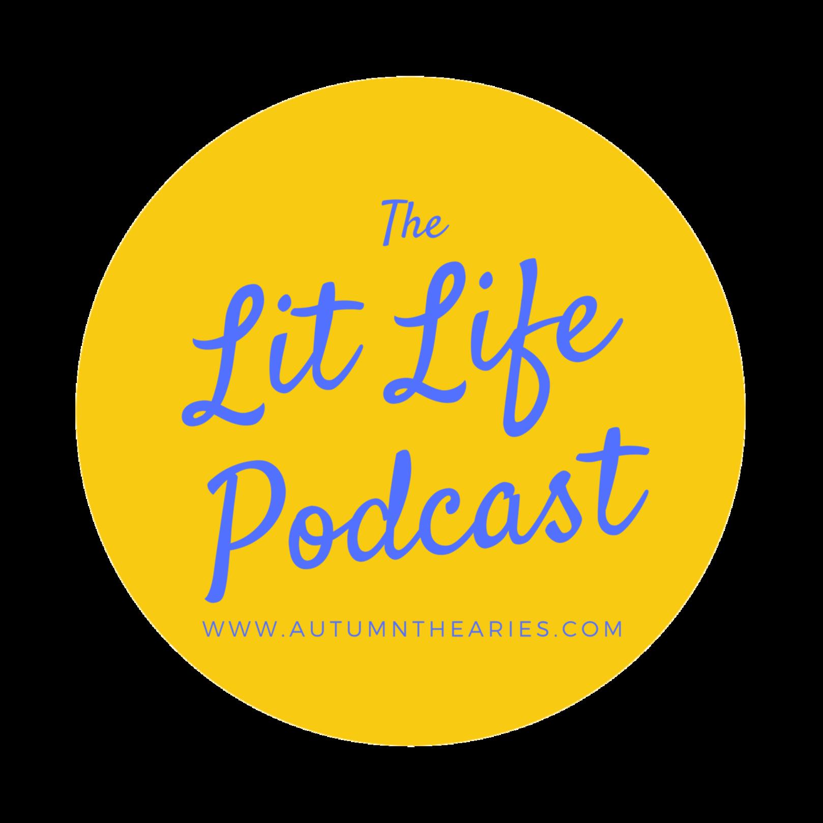 Lit Life Podcast Logo