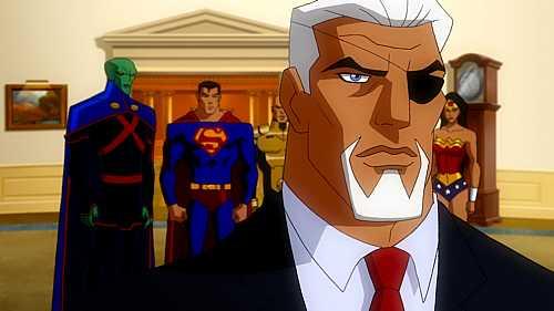 Bruce Davison Is The President in JLA Adventure