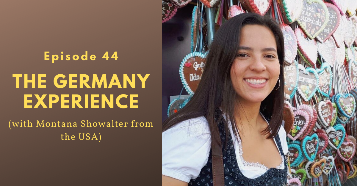 Seven months as an exchange student in Germany (Montana Showalter from the USA) Image