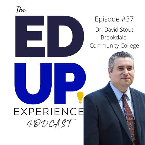 37: Dr. David Stout, President. Brookdale Community College