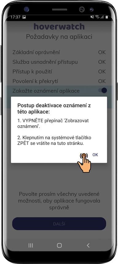 Jak nainstalovat Hoverwatch pro Android