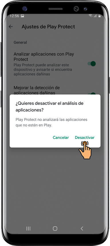 06-Cómo-desactivar-el-servicio-de-Google-Play Protect